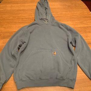 Carhartt Hooded Sweatshirt - Large